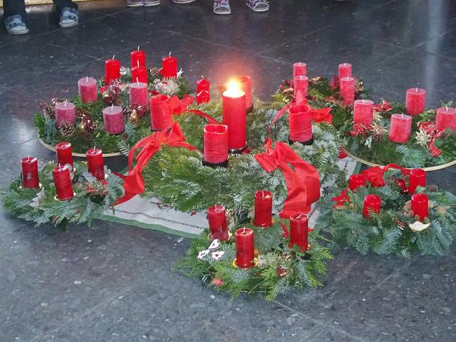 Adventsfeier der Grundschule Merching