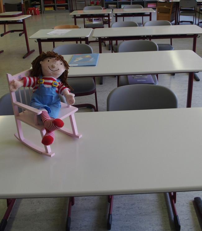 Unsere neuen Schulmöbel